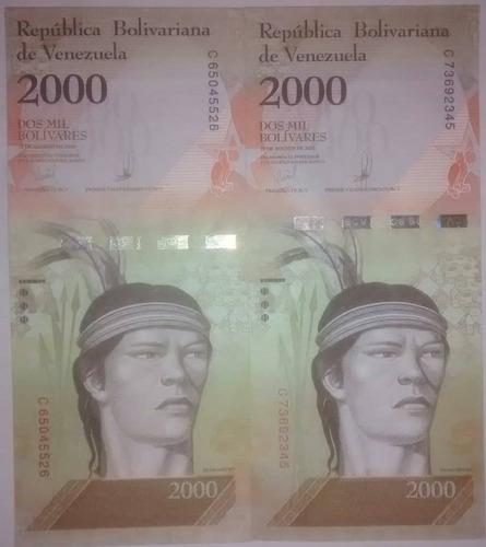 pack 3 billetes 2000 bf