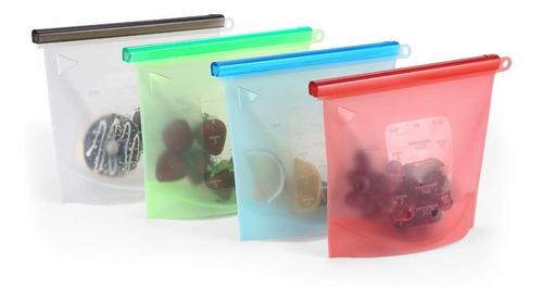pack 3 bolsas de silicona reutilizable - eml