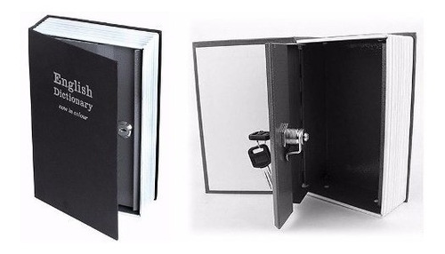 pack 3 caja fuerte simulada libro cofre seguridad mediana