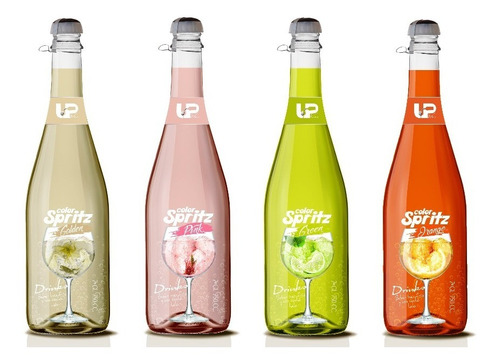 pack 3 cocteles spritz up wine color spritz a elección