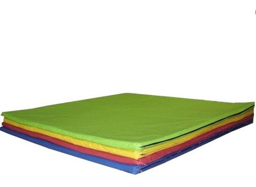pack 3 colchoneta estimulación junji 130x130x2,5 cms colores