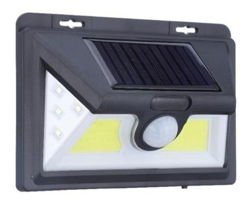 pack 3 foco solar 52 led alta luminosidad sensor movimiento