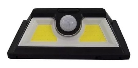 pack 3 foco solar 52 led alta luminosidad sensor movimiento
