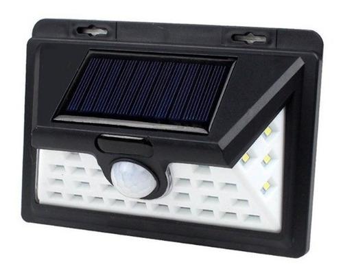 pack 3 foco solar led alta luminosidad sensor movimiento