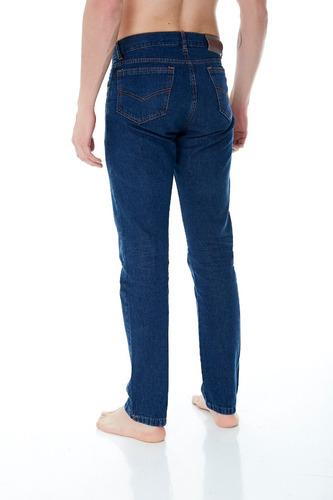 pack 3 jean clasico azul hombre x mayor t. 58 al 60 fabrica