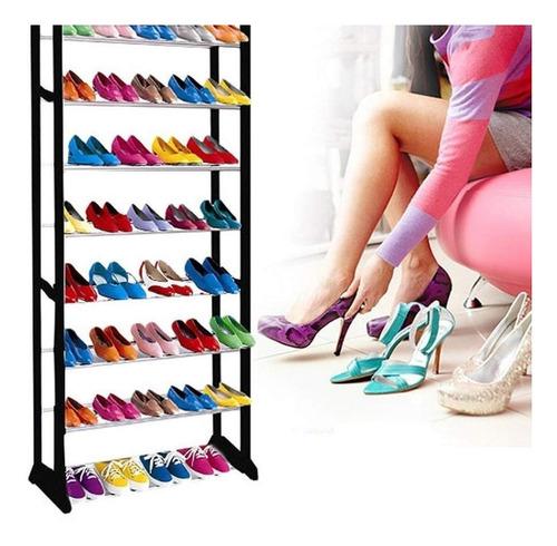 pack 3 organizador rack zapatos zapatillas 30 pares