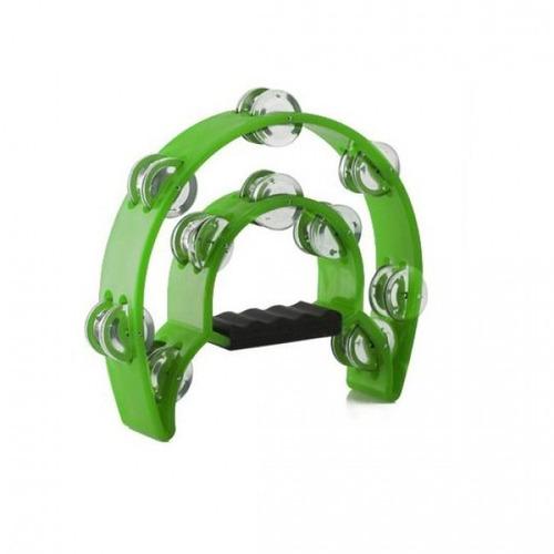 pack 3 panderos baldassare ptwj220g medialuna color verde