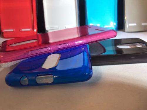 pack 3 pzs !!  protector funda lenovo k6 + mica glass