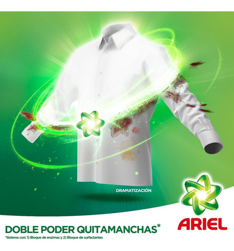 pack 3 recargas pouch detergente liquido ariel downy 1,2 l