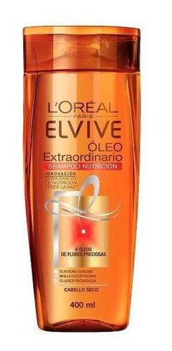 pack 3 shampoo + 3 aco elvive oleo extraordinario l'oréal