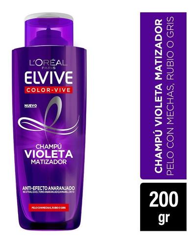 pack 3 shampoo + 3 mascaras colorvive purple l'oréal paris
