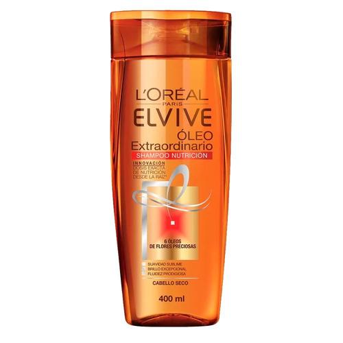 pack 3 shampoo elvive oleo extraordinario l'oréal paris