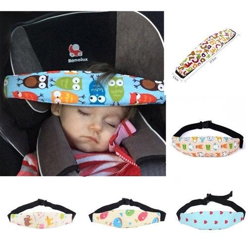 pack 3 sujetador cabeza bebés para silla de auto y/o coche