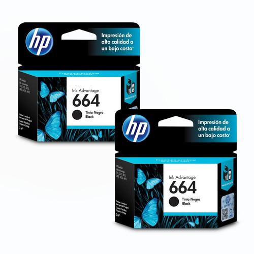 pack 3 tintas hp 664 originales ai 1115-2135-2675-3635 c/iva