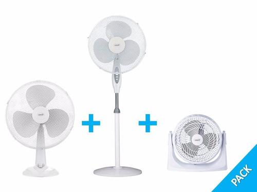 pack 3 ventiladores heimat