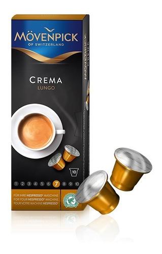 pack 30 cápsulas lungo  premium mövenpick para nespresso®