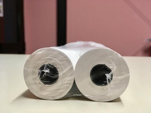 pack 30 rollos térmicos p/ registradora hasar 6100