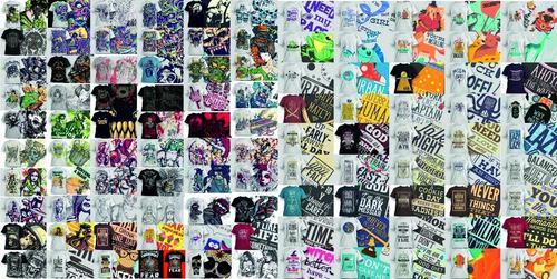 pack + 30000 vectores premium de remeras sublimar serigrafía