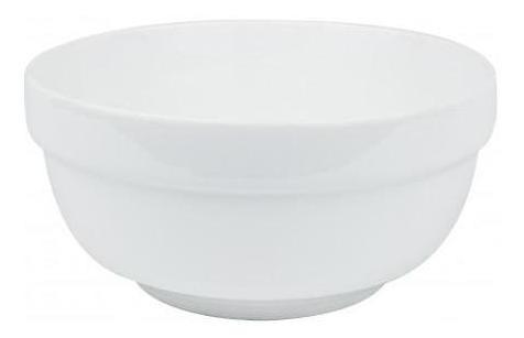 pack 3x: bowl ceramica blanca 15x7cm c guarda ancha