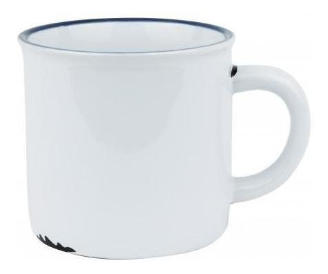 pack 3x: taza cafe ceramica estilo esmaltado vintage 7x6.5