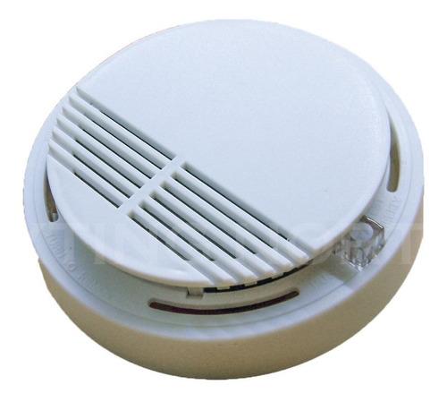 pack 4 alarma detector de humo con bateria 9v + envios