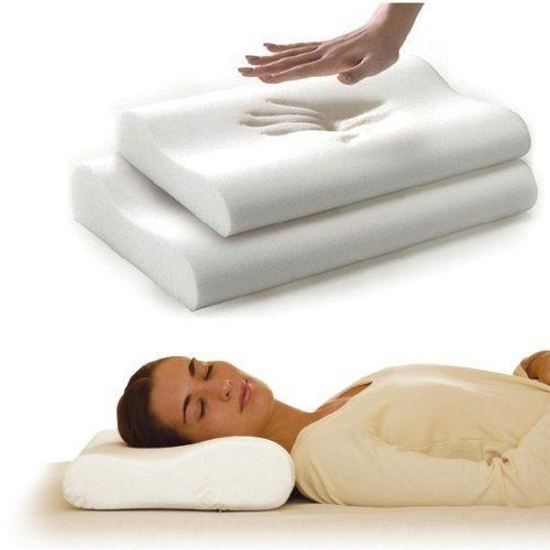 pack 4 almohadas viscoelastica con memoria / asia import