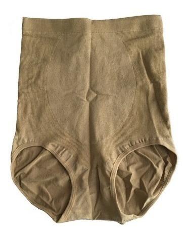 pack 4 calzón faja alto control abdominal banda silicona