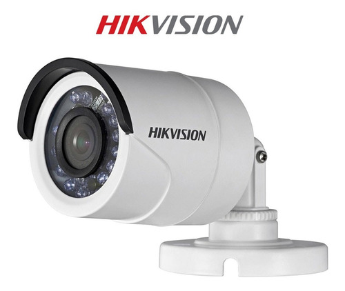 pack 4 camara hd 720p exterior hikvision p/ dvr tvi ahd cvi