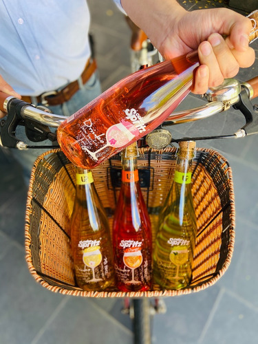 pack 4 cocteles spritz up wine ready to drinks