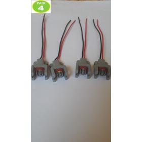 Pack 4 Enchufes Inyector Ssanyong/hyundai/jmc/gread Wall