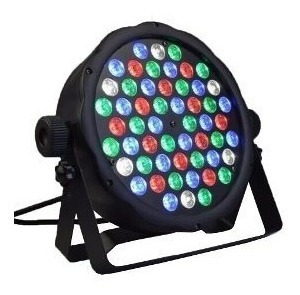 pack 4 foco par led 54 dmx alto brillo rgb disco luces