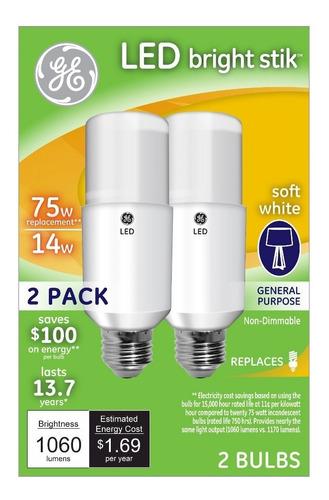 pack 4 focos led lg soft white 14w