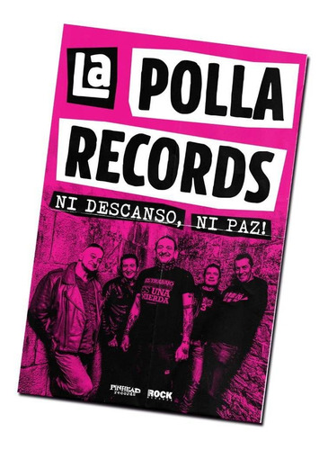 pack 4 la polla records  ni descanso, ni paz!  *  cd digipac