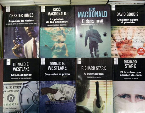 pack 4 libros policiales a eleccion