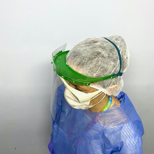 pack 4 máscaras de protección facial - fundación garrahan e