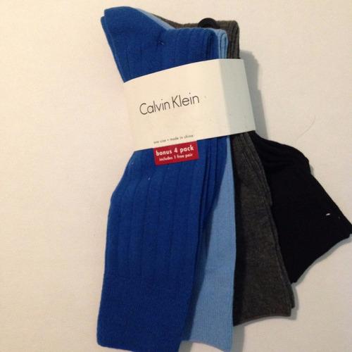 pack 4 p calcetines calvin klein  imp eu. 100% original ck
