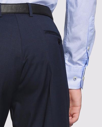 pack 4 pantalones vestir hombre gabardina cyber monday