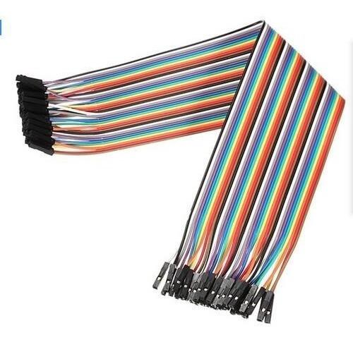 pack 40 cables protoboard hembra hembra 30cm arduino dupont