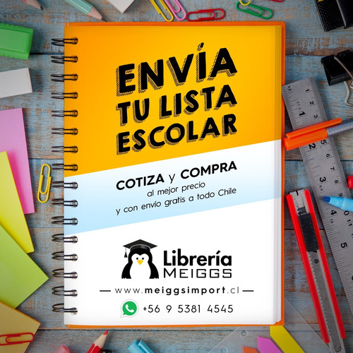 pack 48.000 listas de útiles escolares a domicilio gratis!!!
