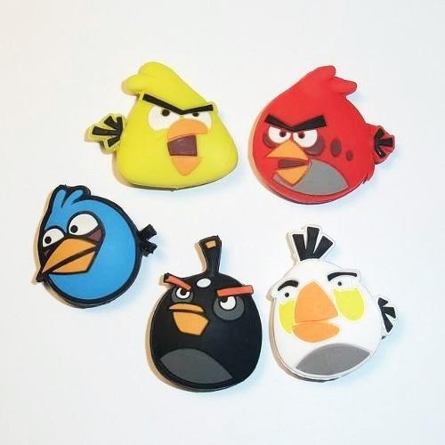 pack 5 antivibradores angry birds