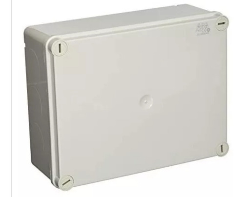 pack 5 caja estanca abb® ip65 22x17x9cm tornillos y tapa