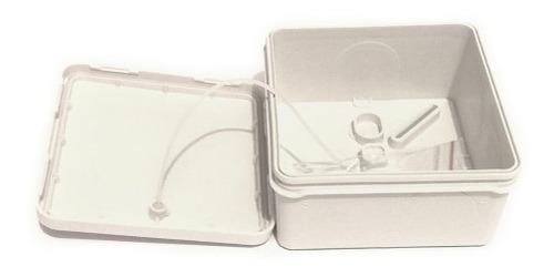 pack 5 cajas de registro estanca ip55 8x8x4.5 (sin conos)