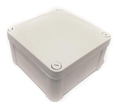 pack 5 cajas estanca de registro ip55 10x10x5.5 (sin conos)