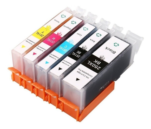 pack 5 cartucho compatibles canon ts6020 pgi 270 cli271 ®