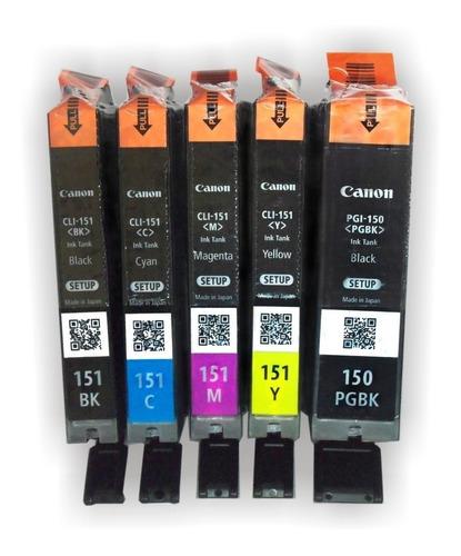 pack  5 cartuchos originales canon ip7210-5510-5410-6810
