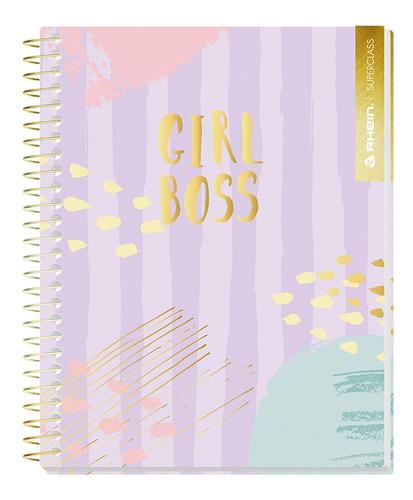 pack 5 cuadernos premium rhein  1/2 oficio