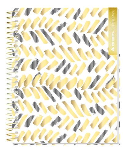 pack 5 cuadernos premium rhein gold style carta