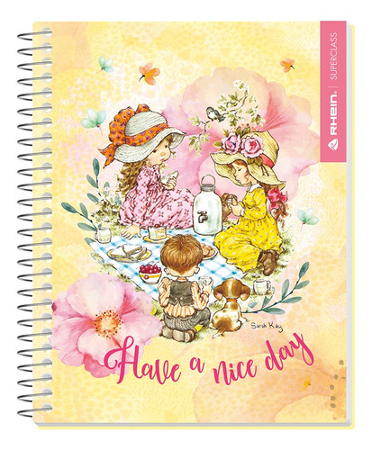 pack 5 cuadernos premium rhein sarah kay carta 120 hojas