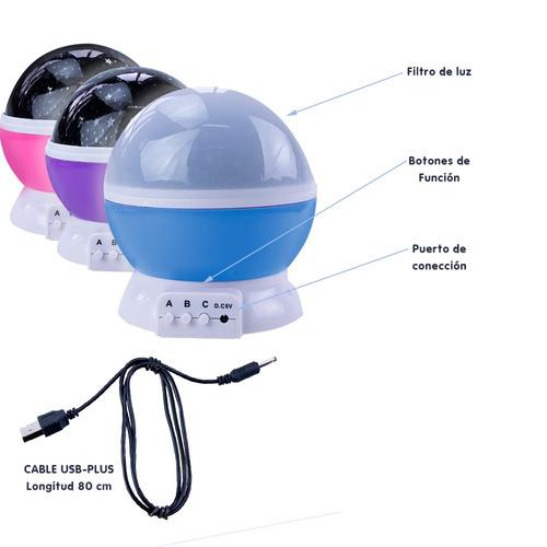pack 5 espanta cucos para niños giratoria proyector