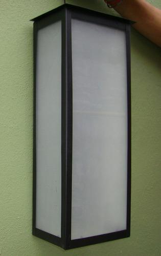 pack 5 farol exterior grande 2 luces 2001
